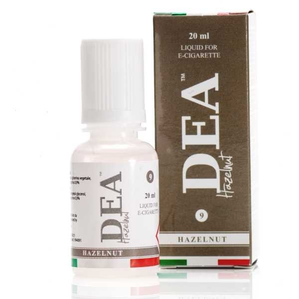 Dea Hazelnut flavour eliquid@ smokedifferent.ie