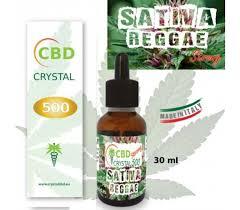 CBD OIL CRYSTAL 500mg Sativa Reggae 30ml