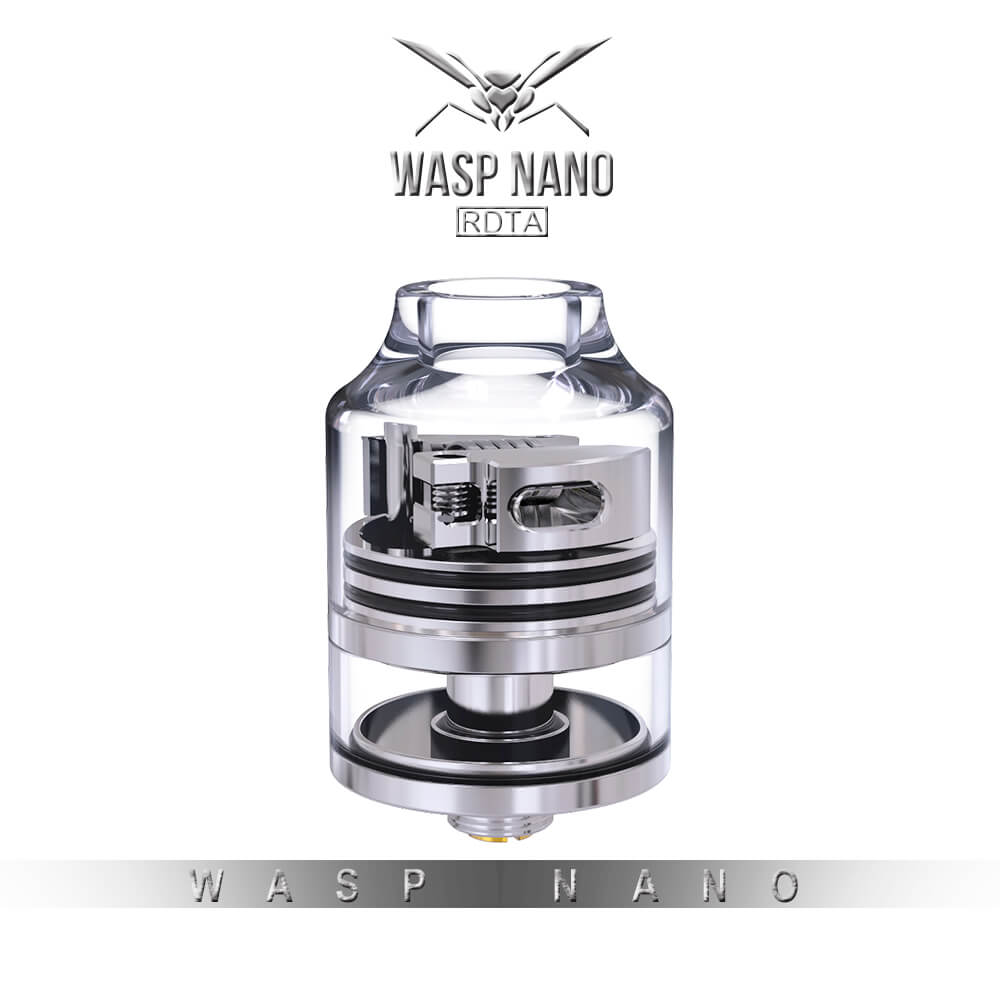 Wasp Nano Rdta By Oumier Smoke Different Vape Shop Authentic Rda 22mm