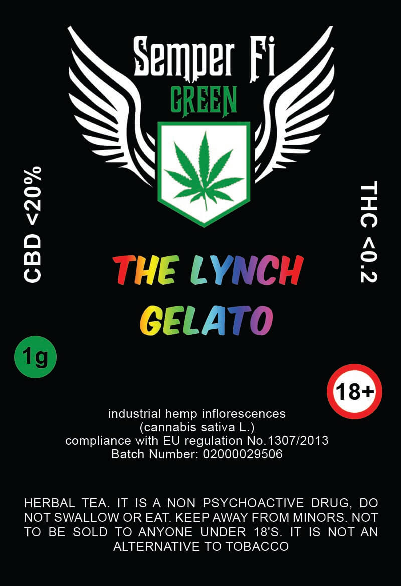 Semper Fi Green - The Lynch Gelato