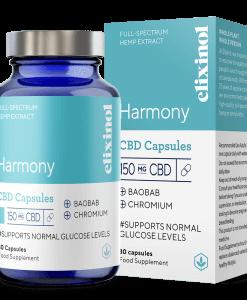 elixinol-harmony-cbd-capsules-150mg-30caps-smokedifferent